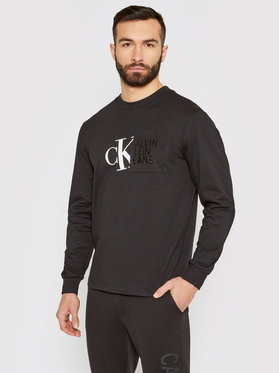 Calvin Klein Jeans Calvin Klein Jeans Longsleeve J30J317454 Nero Regular Fit