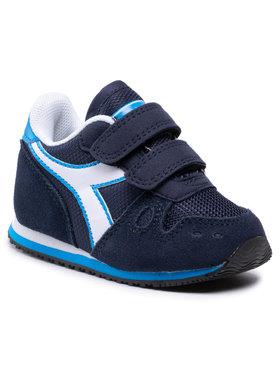 Diadora Diadora Sneakersy Simple Run Td 101.174384 01 C2592 Tmavomodrá