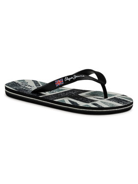Pepe Jeans Pepe Jeans Flip-flops Hawi Britt PMS70101 Fekete