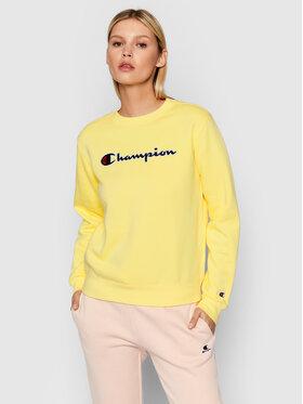 Champion Champion Sweatshirt Crewneck 114462 Jaune Regular Fit