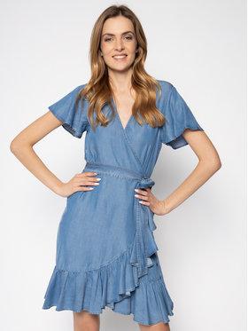 My Twin My Twin Sukienka jeansowa 201MT2193 Niebieski Fitted Fit