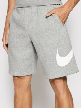 Nike Nike Short de sport Club Short Bb BV2721 Gris Regular Fit