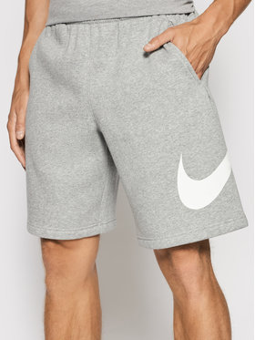 Nike Nike Спортни шорти Club Short Bb BV2721 Сив Regular Fit