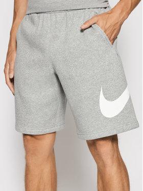Nike Nike Sportovní kraťasy Club Short Bb BV2721 Šedá Regular Fit