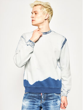 MSGM MSGM Majica dugih rukava 2840MM166 207089 Plava Regular Fit