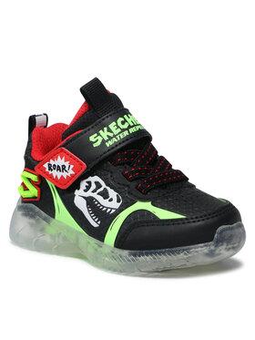 Skechers Skechers Sneakersy Dino-Glow 401521N/BKLM Czarny