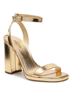 MICHAEL Michael Kors MICHAEL Michael Kors Sandále Angela Ankle Strap 40S1ANHS1M Zlatá
