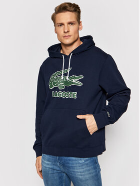 Lacoste Lacoste Džemperis SH0064 Tamsiai mėlyna Regular Fit