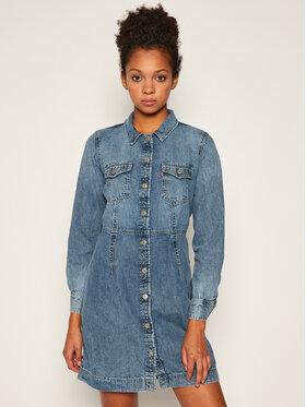 Levi's® Levi's® Džínsové šaty Ellie 38950-0002 Tmavomodrá Regular Fit