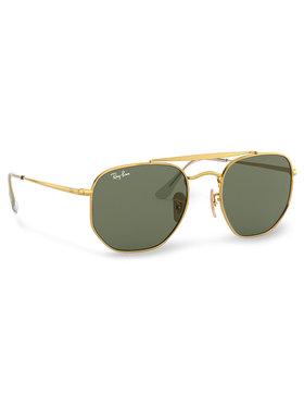 Ray-Ban Ray-Ban Okulary przeciwsłoneczne Marshal 0RB3648 001 Złoty