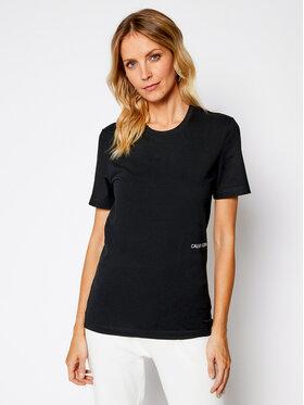 Calvin Klein Underwear Calvin Klein Underwear Комплект 2 тишъртки Statement 1981 000QS6198E Черен Regular Fit