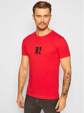 Calvin Klein Jeans Calvin Klein Jeans T-Shirt Logo J30J316656 Červená Slim Fit