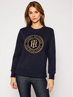 Tommy Hilfiger Tommy Hilfiger Sweatshirt Regular Th WW0WW29247 Dunkelblau Regular Fit