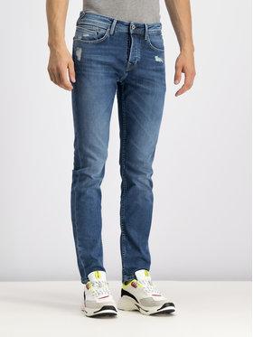 Pepe Jeans Pepe Jeans Straight Leg džínsy PM200982GR72 Tmavomodrá Slim Fit