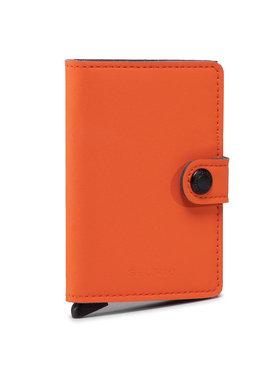 Secrid Secrid Малък дамски портфейл Miniwallet MY Оранжев