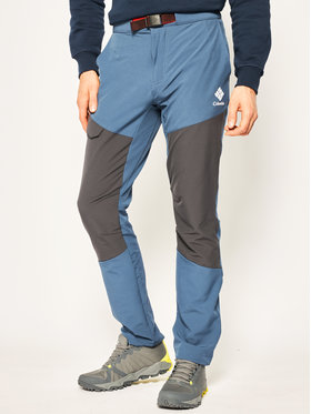 Columbia Columbia Spodnie outdoor Maxtrail EO0297 Niebieski Regular Fit