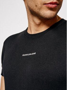 Calvin Klein Jeans Calvin Klein Jeans Póló J30J318067 Fekete Slim Fit