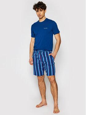 Calvin Klein Underwear Calvin Klein Underwear Piżama 000NM1536E Granatowy