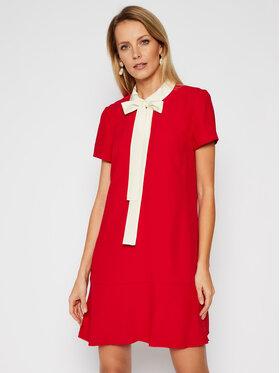 Red Valentino Red Valentino Sukienka codzienna VR3VAF05 Czerwony Fluid Fit