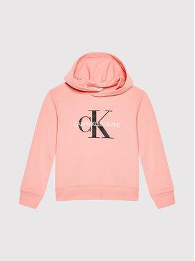 Calvin Klein Jeans Calvin Klein Jeans Bluza Monogram IU0IU00073 Różowy Regular Fit