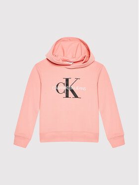 Calvin Klein Jeans Calvin Klein Jeans Суитшърт Monogram IU0IU00073 Розов Regular Fit
