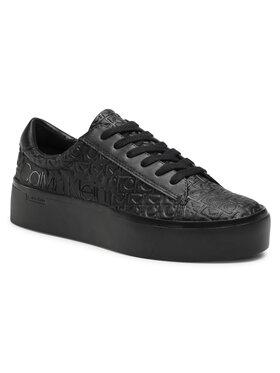 Calvin Klein Calvin Klein Sneakersy Janika B4E00422 Černá