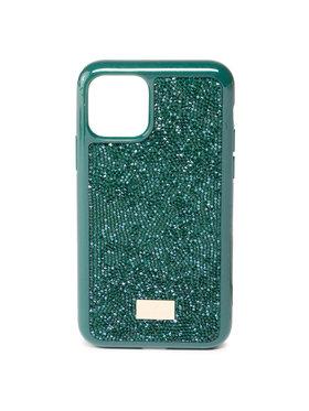 Swarovski Swarovski Калъф за телефон Glam Rock 5549939 Зелен