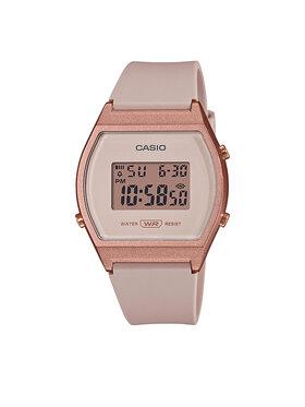 Casio Casio Laikrodis Vintage Digital LW-204-4AEF Smėlio
