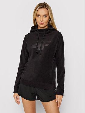 4F 4F Polár kabát NOSH4-PLD003 Fekete Regular Fit
