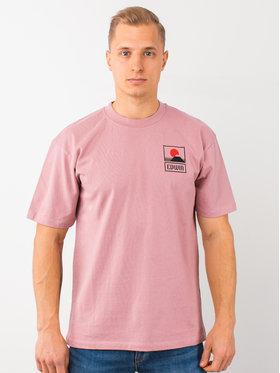 Edwin Edwin T-Shirt Sunset On Mt Fuji Ts I025881 TG372M4 WDR67 Różowy Regular Fit