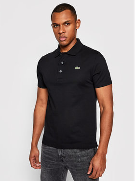 Lacoste Lacoste Polo YH4801 Crna Slim Fit