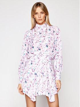 IRO IRO Letní šaty Bily A0147 Barevná Regular Fit
