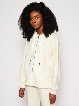 Desigual Desigual Sweatshirt Pintucks Camo 21SOSK08 Jaune Regular Fit