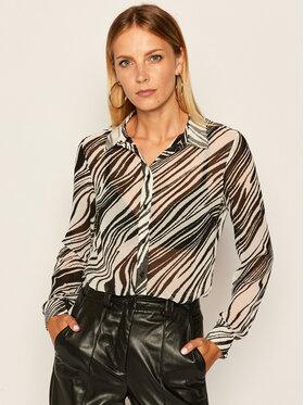 Guess Guess Marškiniai Clouis W0YH96 W70Q0 Pilka Regular Fit