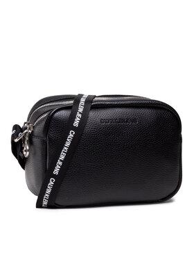 Calvin Klein Jeans Calvin Klein Jeans Дамска чанта Double Zip Camera Bag K60K608233 Черен