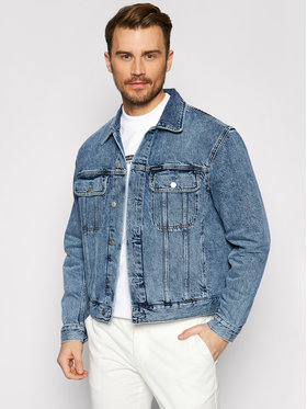 Calvin Klein Jeans Calvin Klein Jeans Džínsová bunda J30J317758 Modrá Regular Fit