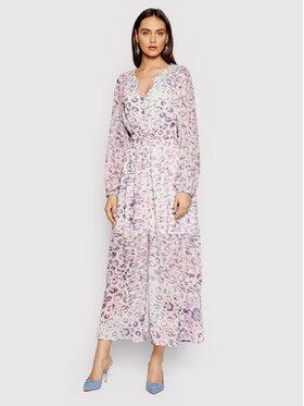 Guess Guess Sukienka letnia W1GK0I WDW10 Różowy Regular Fit