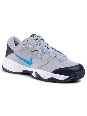 NIKE NIKE Παπούτσια Court Lite 2 Cly CD0392 011 Γκρι