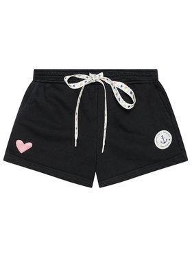 Femi Stories Femi Stories Sportske kratke hlače Missy Crna Regular Fit