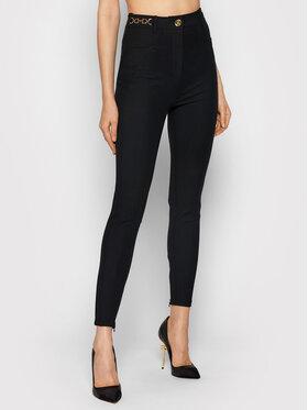 Elisabetta Franchi Elisabetta Franchi Pantalon en tissu PA-011-16E2-V360 Noir Slim Fit