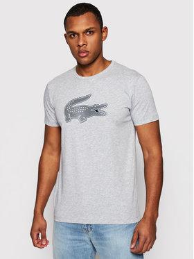Lacoste Lacoste Marškinėliai TH2042 Pilka Regular Fit