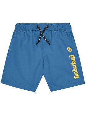 Timberland Timberland Pantaloni scurți pentru înot T24B44 S Albastru Regular Fit