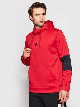 Nike Nike Felpa Jordan Air Therma CK6789 Rosso Standard Fit