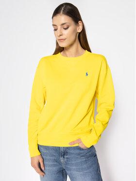 Polo Ralph Lauren Polo Ralph Lauren Džemperis Fleece 211780304 Geltona Regular Fit