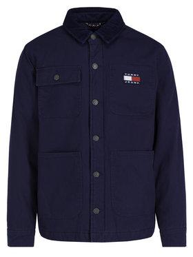 Tommy Jeans Tommy Jeans Jeansová bunda Workwear DM0DM06918 Tmavomodrá Regular Fit