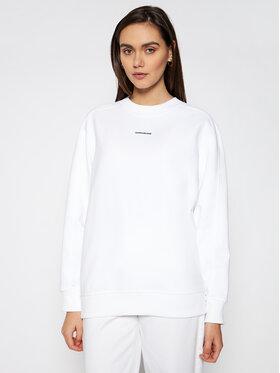 Calvin Klein Jeans Calvin Klein Jeans Bluza J20J216555 Biały Relaxed Fit