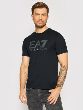 EA7 Emporio Armani EA7 Emporio Armani T-Shirt 6KPT81 PJM9Z 1578 Czarny Regular Fit