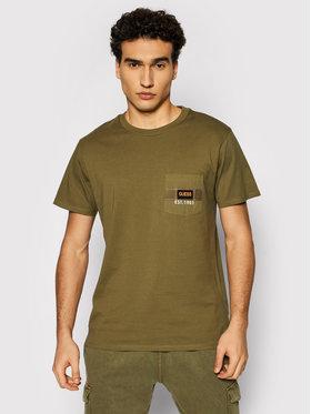 Guess Guess T-shirt M1YI80 K8FQ1 Zelena Regular Fit