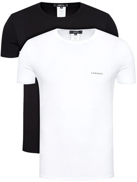 Versace Versace Set di 2 T-shirt Intimo AU04023 Multicolore Slim Fit