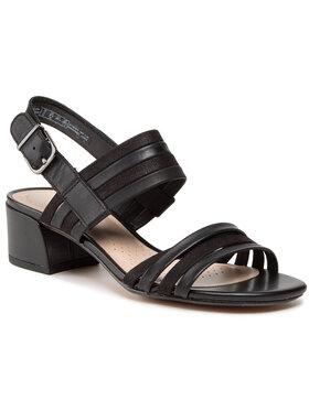 Clarks Clarks Sandále Caroleigh Bess 261594224 Čierna